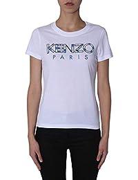6c0a65e41746 Kenzo Femme F952TS72199001 Blanc Coton T-Shirt