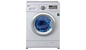 LG F12B8EDP21 Fully-automatic Front-loading Washing Machine (7.5 Kg, Blue White)
