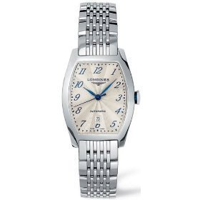 LONGINES EVIDENZA L2.642.4.73.6 GENTS STEEL BRACELET STAINLESS STEEL CASE WATCH