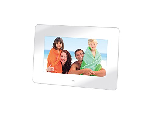 'Trevi DPL 2210Digitaler Bilderrahmen (17,78cm (7), 480x 234Pixel, LED, jpg, MMC, SD, USB 2.0) weiß