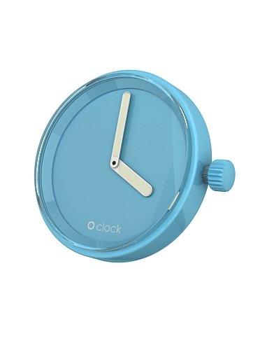 fullspot o clock cassa celeste  mec.ce - orologio da polso unisex