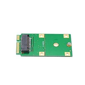 Nukana M.2 NGFF SSD Zu MSATA SSD-Adapterkarte SSD-Konverter Unterstützung Für 2230 Und 2242 SSD