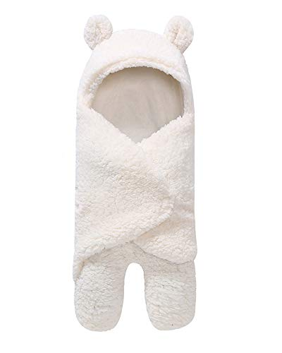My NewBorn 3 in 1 Baby Blanket (White) (75 cm x 80 cm)