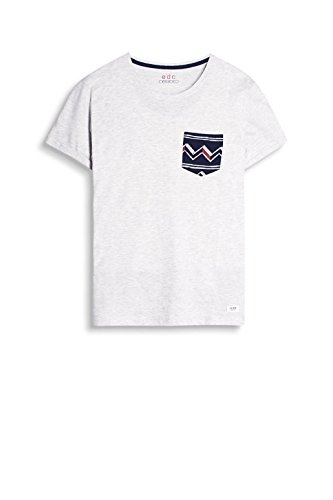 ... edc by ESPRIT Herren T-Shirt 047cc2k050 Weiß (Off White 110)