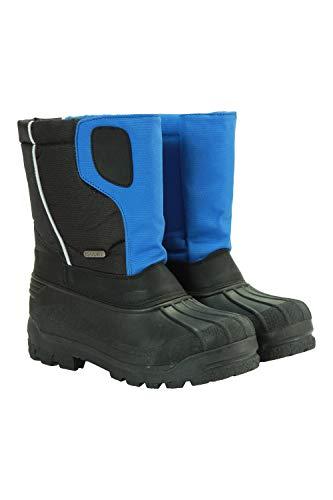 Mountain Warehouse Apex Kids Warm Snowboots - Snowproof Winter Shoes