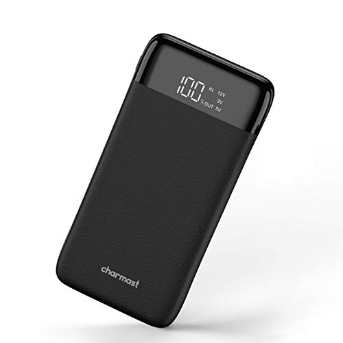 Charmast Powerbank 20800mah LED Digital Display Externer Akku USB C Power Delivery QC3.0 Quick Charge Micro USB Type C Handy Ladegerät für iPhone X/XS/8/7/6,iPad,New iPad Pro,Huawei,Samsung und Tablet