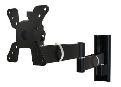 Neigbar ausziehbar schwenkbar stabile LED LCD Wandhalterung in schwarz bis 15KG bis 76cm (30 Zoll) für Samsung Pioneer Sharp Sony LG und auch TFT Monitore BENQ
