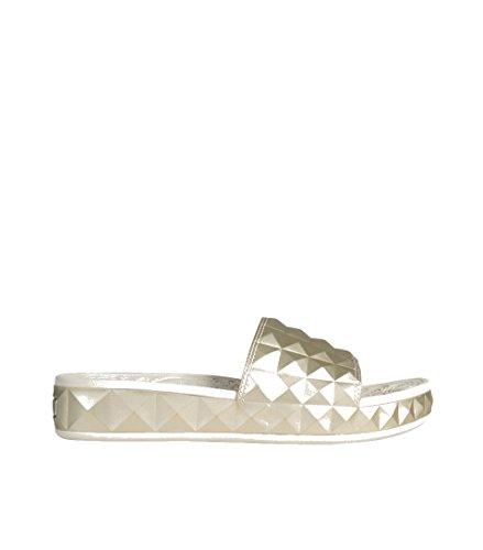 ASH Damen Sandale Splash goldfarbend Ariel 41 Ariel Slipper