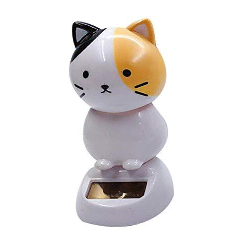 332PageAnn Solar Wackelfigur Weihnachten Spielzeug Niedlich Katze Puppe Klein Autodekoration - Auto Innenraum - Spielzeug Für Dein Freund