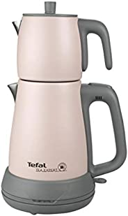 Tefal Tea Expert Çelik Demlik Çay Makinesi, Işıltılı Pudra