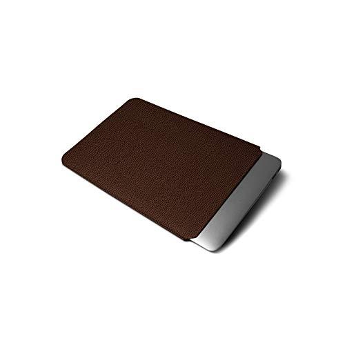 b45cf58bbb Lucrin - Housse pour MacBook Air 13 pouces - Marron - Cuir Grainé