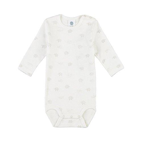 Sanetta Unisex Baby Body 322440, Beige (Broken White 1427), 74