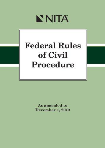 FEDERAL RULES OF CIV - Nita Trial Advocacy