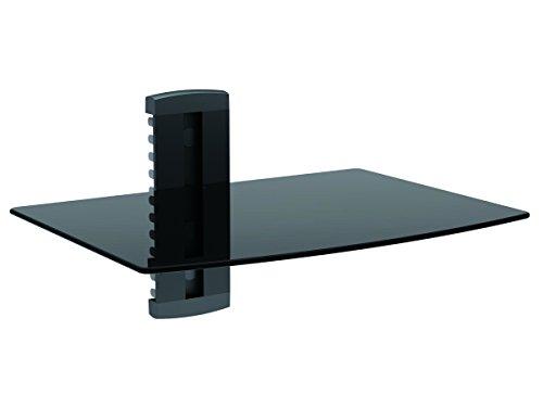 Monoprice 110478UL zertifiziert Single Regal Wandhalterung für TV Komponenten Wand-av-komponenten-regal