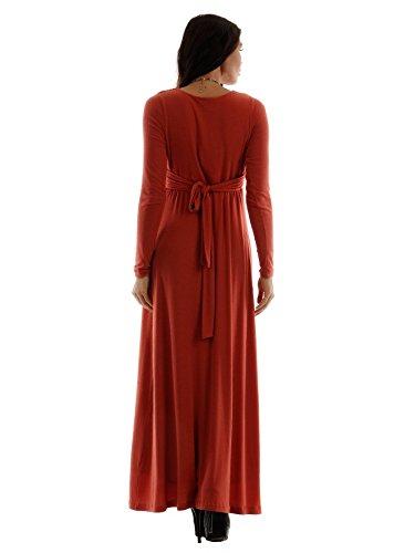 Pietro brunelli de soirée & hochzeitskleid brautkleid umstandsmode umstandsbrautkleid robe pour femme Rouge - Paprika