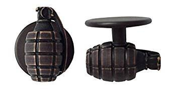 Preisvergleich Produktbild Motivknöpfe Kochknöpfe Kugelknöpfe Handgranate für Kochjacken12 Stück/Packung