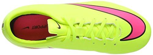 Nike Jr. Mercurial Victory V FG Unisex-Kinder Fußballschuhe Gelb (Volt/Hyper Pink-Black 760)
