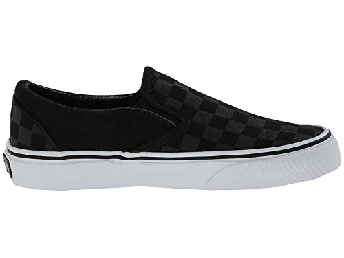 Vans U Classic Slip-on, Baskets mode mixte adulte Kariert (schwarz/schwarz)