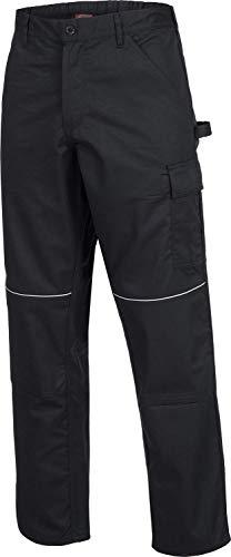 ACE+ Pantaloni da Lavoro Motion Tex - Pantalone Comodo & Resistente - Standard Öko-Tex, Leggeri - 245 g/m² - Neri
