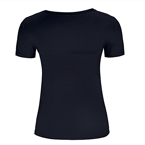 qianyishop Mens Womens 3d Print T Shirtsmeteorites circling the planet Graphic Fashion Couple Tees Top Short Sleeve C