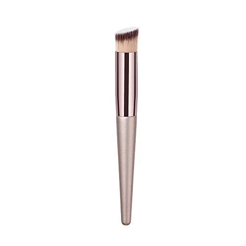 KItipeng Pinceaux de Maquillage,Maquillage Brosse,Makeup Brushes,1PCS Base en bois Multifonctionnelle Cosmétique Brushes Pinceau à sourcils Ombre à paupières Maquillage Outils Beauté Accessoires