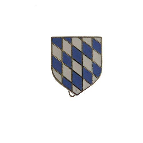 Breiter - Hutanstecker, Hutabzeichen, Hutschmuck, Anstecker: bayerisches Wappen