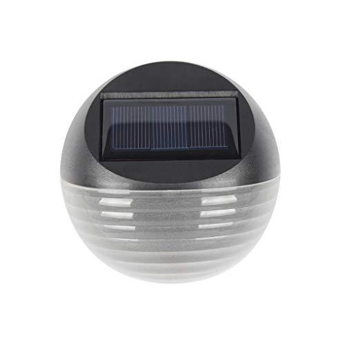 Uzinb 6LED solaire Lampe de mur extérieur étanche solaire de jardin Lumière Cour Pathway Clôture Wall Light
