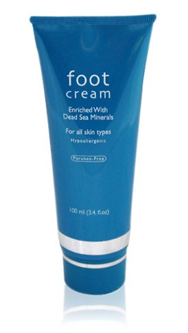 Jerico Dead Sea Foot Cream 100ml 3.4fl.oz -