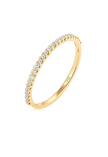 Diamore Ring Damen Geo Microsetting mit Diamant (0.25 ct.) in 585 Gelbgold