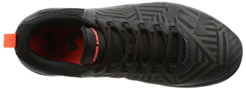 Under Armour Charged Legend TR Stripe Hommes Synthétique Baskets Blk-Gph-Blk