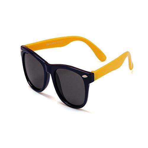 Sportbrillen, Angeln Golfbrille,NEW Boy Girls Sunglasses Kids Sun Glasses Children Glasses Polarisiert Lenses Girls Boys Tr90 Silicone Child Mirror Baby Eyewear c11