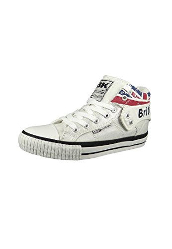 British Knights Sneaker B40-3715 Silver Union Jack, Groesse:37 EU / 4 UK / 5 US
