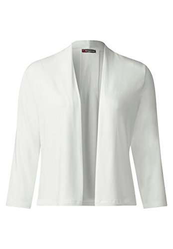 Street One Damen Offene Shirtjacke Peggy off white (weiss)