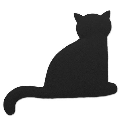 Leschi cuscino termico | 36525| il gatto minina | seduto | grande (cuscino termico per la pancia) colore: mezzanotte/mezzanotte