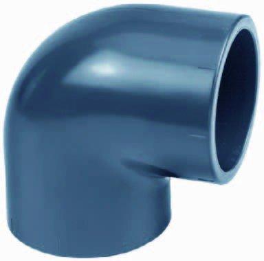SIBO Angle PVC 90 ° (10-110 mm/16 Bar) - Pression Fitting à Coller 32mm (1.25 Zoll)