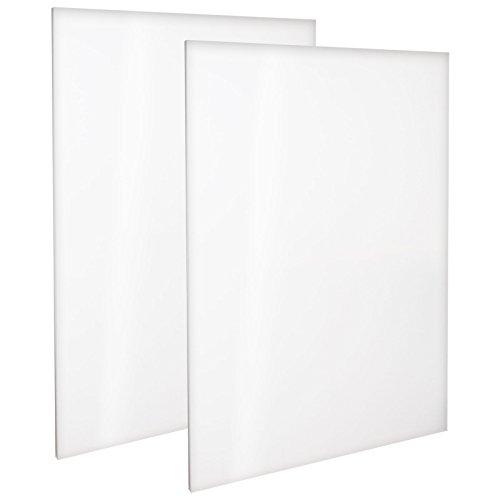 Paquete de 5 Panel de Lona de 3 mm 12 x 16 Artgeo 30cm x 40cm