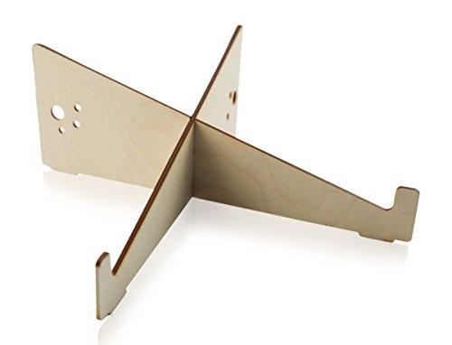 Universal Laptop Ständer aus Holz für Notebooks, MacBook und MacBook Pro, Tablets uvm.