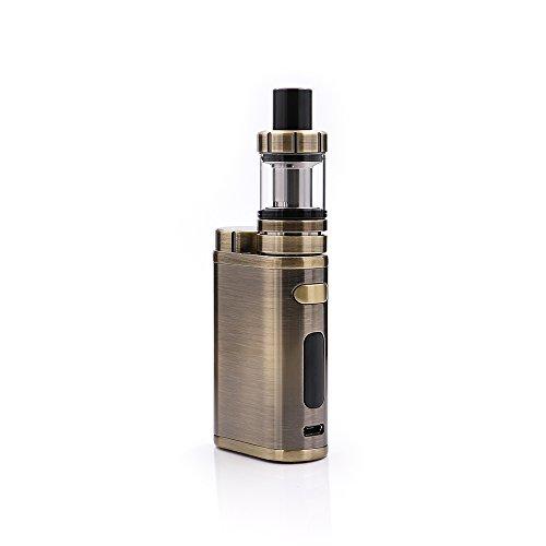 E Zigarette, Eleaf iStick Pico 75W TC Full Kit, Vape Kit with TC Mod Box, Riesiger Dampf Elektronische Zigarette Kit, Keine Flüssigkeit, Kein Nikotin (Gebürstetes Gunmetal) (Elektronische Zigarette E-flüssigkeit)