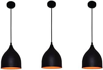 Pendant lights buy pendant lights online at low prices in india single head vintage black aluminium hanging light pendant ceiling lights lamp industrial retro country style led aloadofball Choice Image