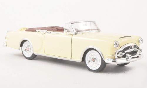Packard Caribbean, beige clair, 1953, voiture miniature, Miniature déjà montée, Welly 1:24