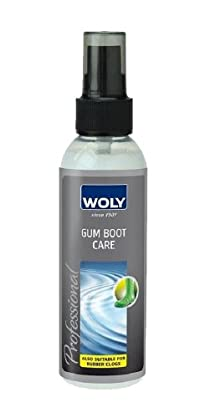 Woly Gum Boot Care. High-quality Oils Intensifies Colors and Shines Crocs, Gum and Rubber Boots and Shoes. Made in Germany