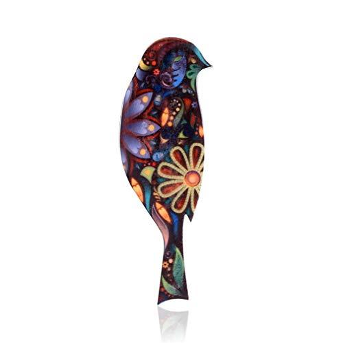 JOOFFF Mode Vogel Brosche frauen Tier Brosche Pins Damen Urlaub Party Kleidung Zubehör, 2# (Broschen Und Tier Pins)