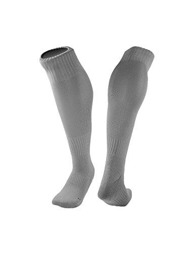 sourcingmap® 1 Paar Herren Briefe druckt Kompression Kissen Knie hohe Socken (Knie Gold Hoch)