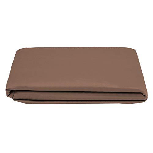 Bed Cover Dust Proof Fitted Bettlaken aus 100% Baumwolle 6 Farben Bug Dust Mite & Allergie Control Matratze Protector MEHRWEG VERPACKUNG socialme-eu(180 * 200+30-Kaffee) -