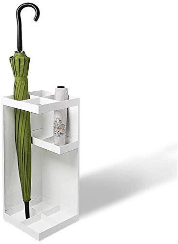 TZSMYSJ Schirmständer mit Lagerplätzen der Europäischen Bank in der Lobby Home Creative, Regen-Abdeckung, Klappständer Regenschirm, Schirmständer Weiss, 20x20x50cm TZSMYSJ-A001