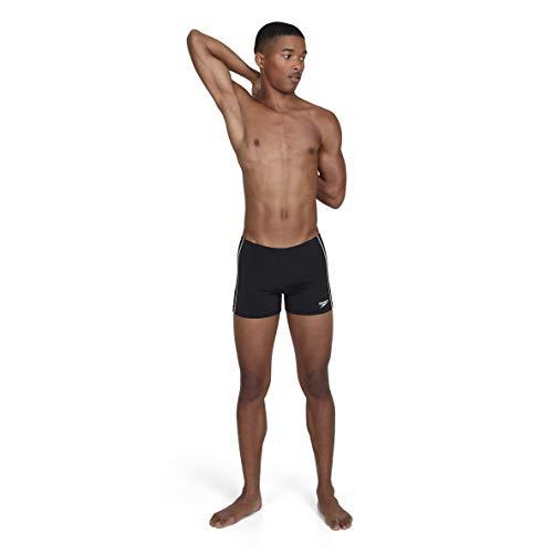 Speedo Badehose Essential Classic Aquashorts - Traje de baño, Negro Black, 95 cm Talla de fabricante...