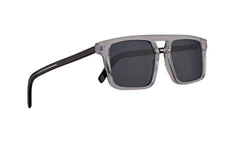 Dior Christian Homme Blacktie262S Sonnenbrille Crystal Mit Blauen Verspiegelten Gläsern 54mm 900A9 Black Tie 262S BlackTie262S