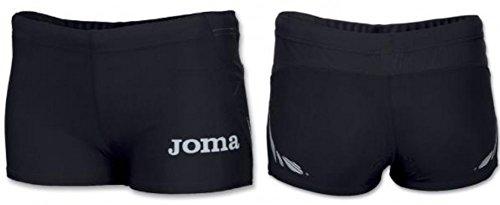 Joma Running/Damen Hosen Shorts Run Woman Elite Iii Sc 1106.33.2011 Schwarz L Womens Elite Hose