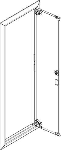 Abn Blendrahmen mit Volltüre GBRU17T f.Flachvert,1x7reih Tür/Bedientableau (Schaltschrank) 4015153469204