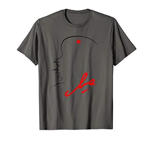 Che Guevara Kuba Rebell Unterschrift Guerilla Revolution T-Shirt -